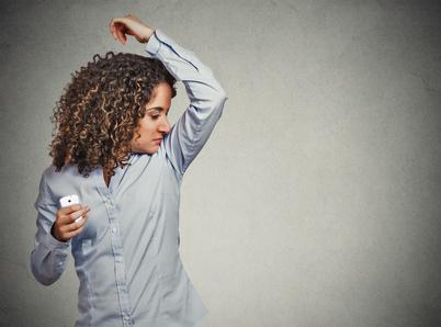 Odour testing deodorants