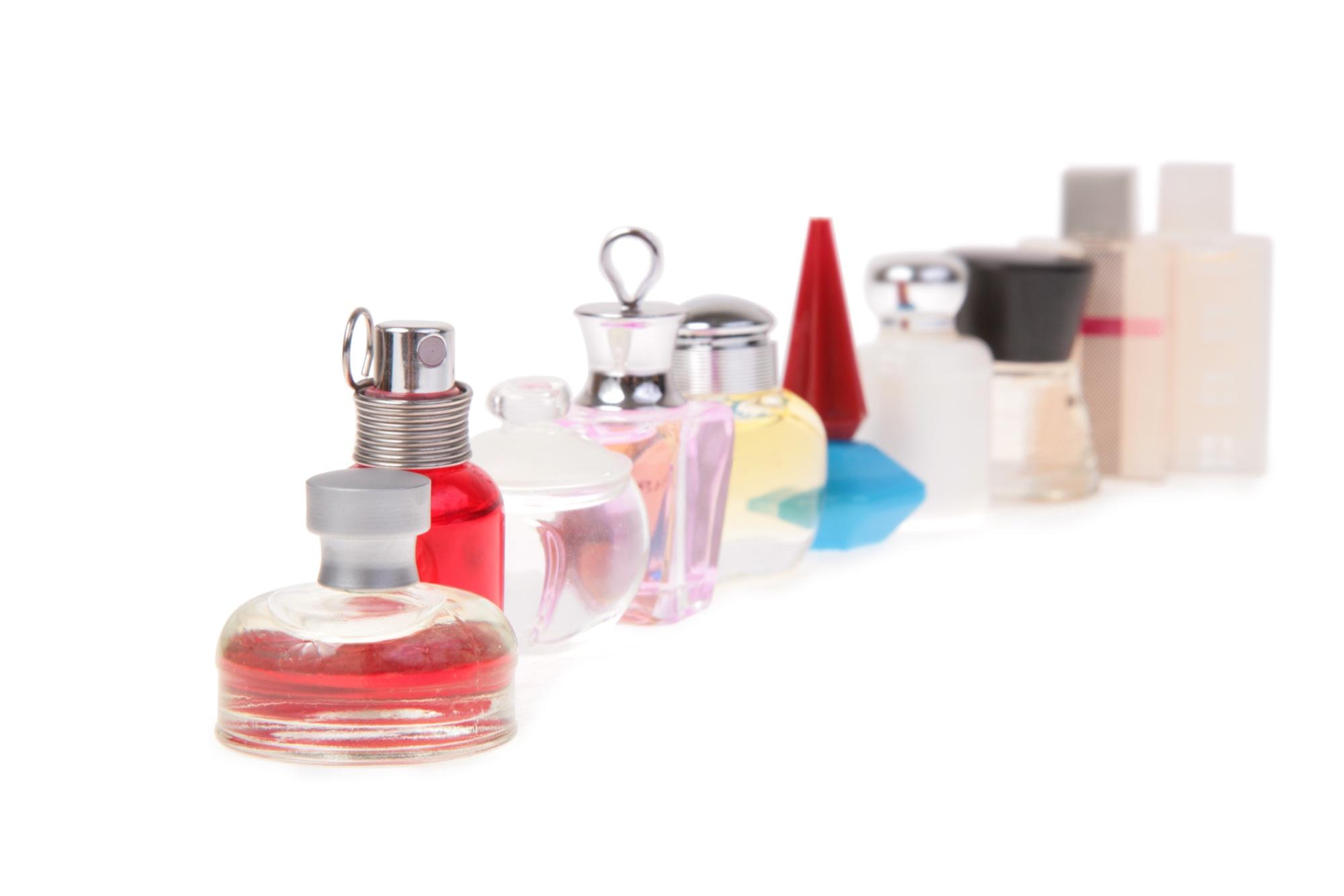 Odour testing fragrances