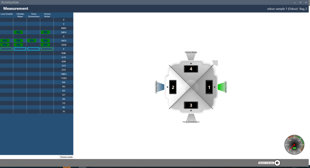 Olfactometer Software