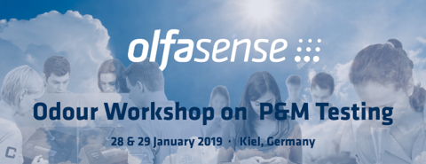 SAVE THE DATE – 2019 Olfasense Odour Workshop on Product & Material Testing