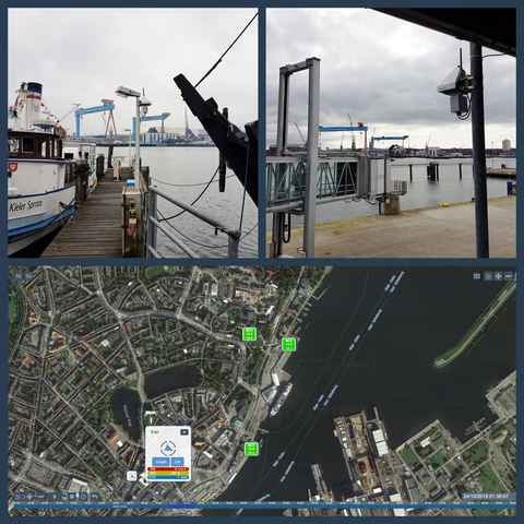 Olfasense supports Port of Kiel with air quality measurements around cruise ship terminal