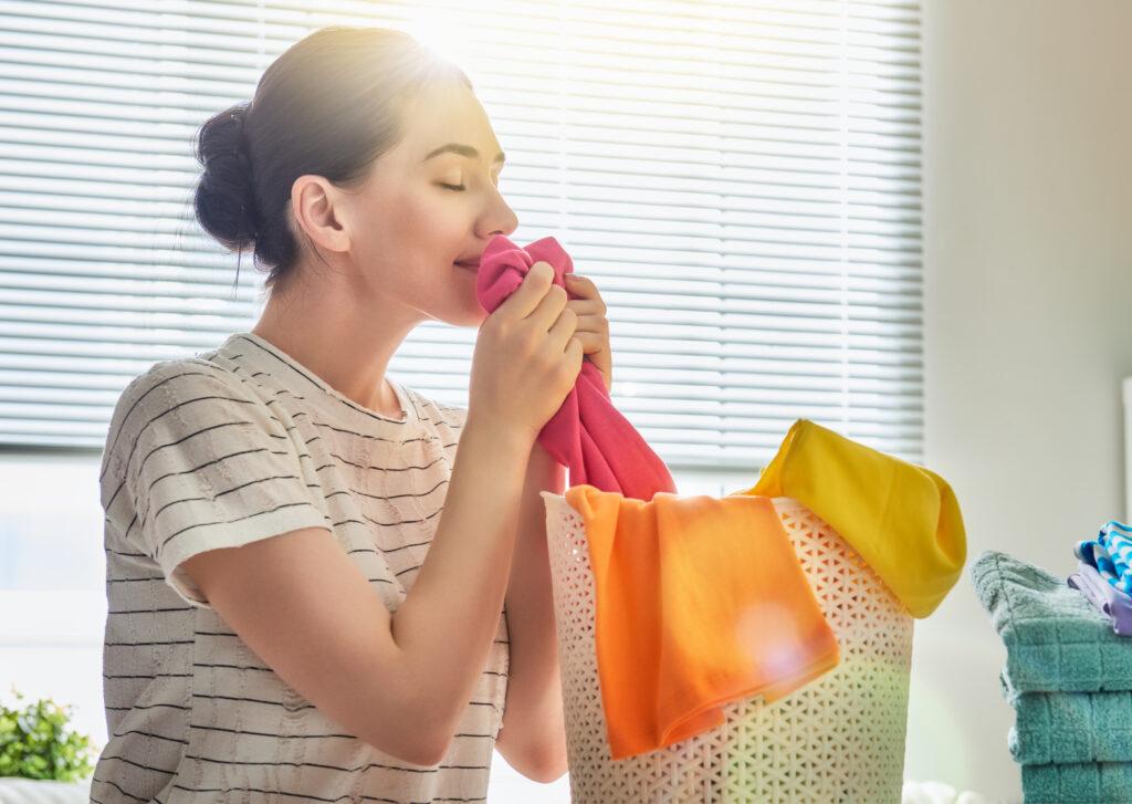 Geruchsmessung Waschmittel