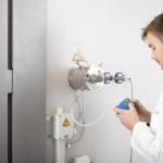 VOC emission test chamber Sampling