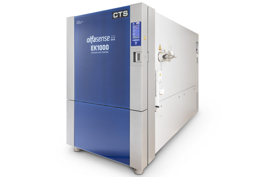 VOC emission test chamber