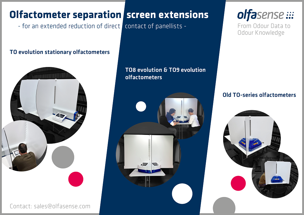 OS olfactometer separation screen