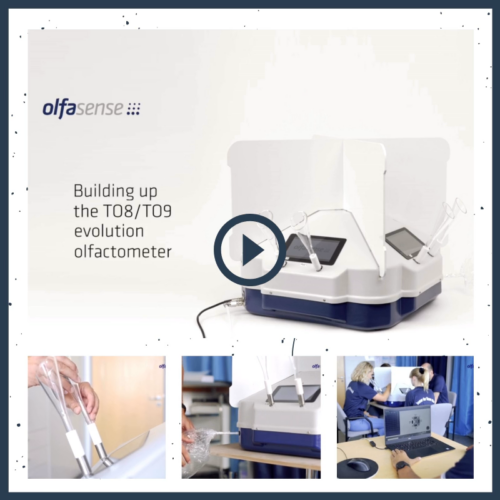Olfactometer installation video