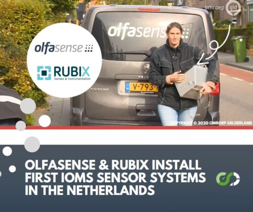 Olfasense and Rubix install first IOMS sensor systems in the Netherlands