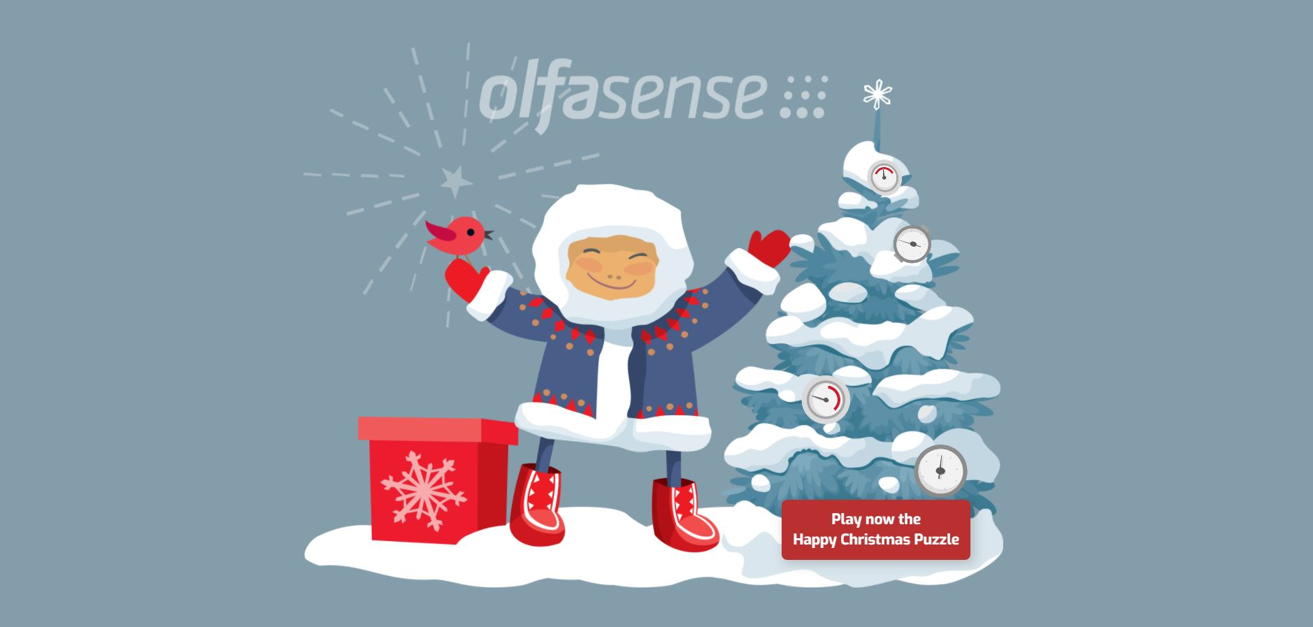 Olfasense Holiday Greetings