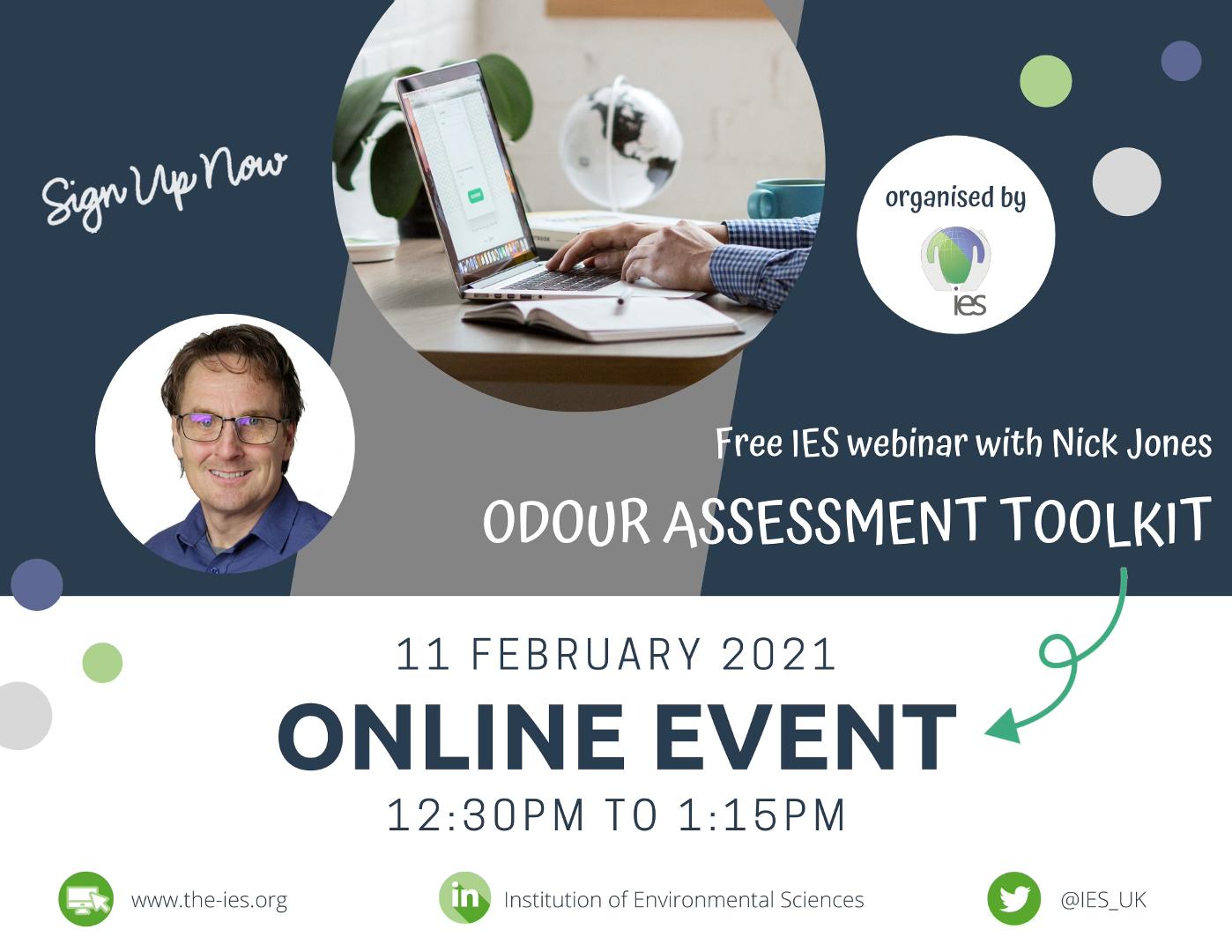 IES Webinar odour assessment