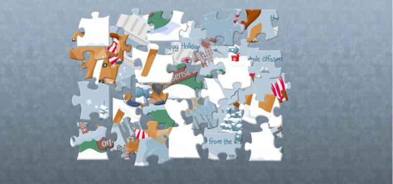Olfasense Christmas Puzzle