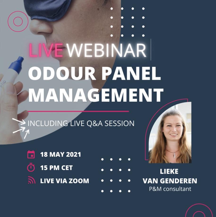 Webinar Odour Panel Management