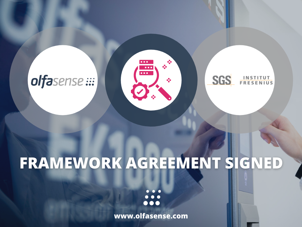 Olfasense SGS calibration partnership