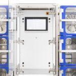 VOC emission test chamber rack system