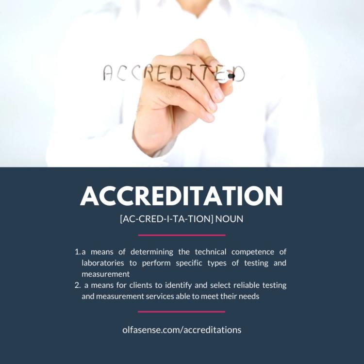 Accreditation Odour Laboratory